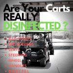 Disinfect Golf Carts